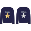 T-Shirt GIRL star star SEQUIN 2 SIDE