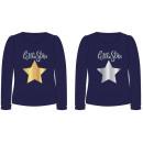 grossiste Vetement et accessoires: T-Shirt FILLE étoile étoile SEQUIN 2 CÔTÉ