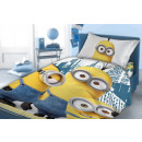 bed linen Minions 140x200 70x90 100% coton