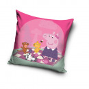 Großhandel Lizenzartikel: Deckbettbezug Peppa Pig 40x40 Baumwolle