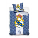 Bedding 135x200 80x80 Real Madrit 100% coton