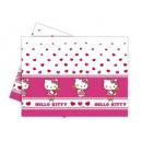 groothandel Tafellinnen: Tafelkleed Hello  Kitty Heart - 120 x 180 cm