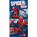 towel Spiderman Blue JJ 70/140