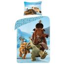 Bettwäsche Ice Age  140x200 70x90 100% Baumwolle