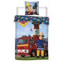 Ropa de cama de bebé Fireman Sam 135x100 40x60 alg