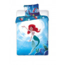 bed linen Disney Ariel , mermaid 160x200 coton