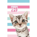towel 30x50 100% coton cat the cat