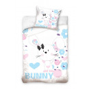 bed linen bunny rabbit baby cotton 70x80 140x200