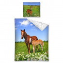 Bedtextiel Youth  BF paard 140x200 70x80 katoen