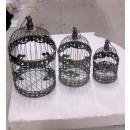 Großhandel Dekoration:In Metallkäfige gesetzt