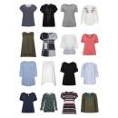 Großhandel Shirts & Tops: Damen Übergrößen Mode Plus Size T-Shirts Tops Blus