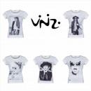 Großhandel Shirts & Tops: Vinizi Damen T-Shirt Tops Bekleidung Mode Mix
