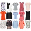 Ropa de remanente de ropa de verano de mujer
