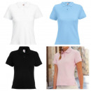 Fruit of The Loom Damen Polo Piquet Marken Polos