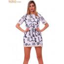 Großhandel Shirts & Tops: Große Größe Tunika mit Stickerei