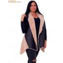 ingrosso Cappotti e giacche:Furry Crema gilet