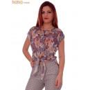wholesale Shirts & Blouses: Blouse Flower  Print Sleevless Blouses