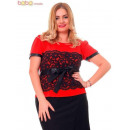 wholesale Fashion & Apparel: Blouse Elegant Blouses Red