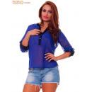 Bluzka kobiet Niebieski