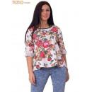 Großhandel Hemden & Blusen:Bluse Frauen Blumen