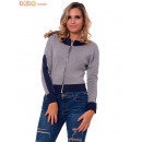 wholesale Coats & Jackets:Ladies Bomber jacket