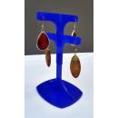 grossiste Boîtes et presentoirs bijoux: Boucles  d'oreilles  pendantes stand de ...
