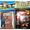 grossiste DVD & Blu-rays / CD: D'énormes  quantités de films DVD