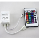 Controlador RGB con 24key remoto LED Stripes
