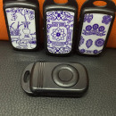 Mp3 Player Keychain painted music