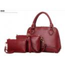Großhandel Taschen & Reiseartikel: Damen Taschen Set KlassischTragetasche Handtasche