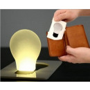 Mini LED-lamp Credit Card zaklamp