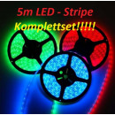 5m RGB LED strip stripe stripes tape 44 Comb.