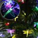 LED karakterlánc Lights Napelemes 50 LED Dragonfly