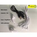grossiste Lecteurs MP3 et MP4: câble de recharge  USB des  accessoires pour ...