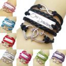 Leather bracelet,  wrap bracelet bracelet bracelet