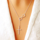 Halskette mit Kreuz Modische Kette