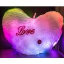 LED Heart Love Kuschelkissen light luminous pillow