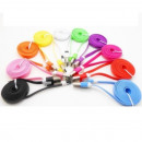 8 pin Noodle USB Data Cable iPhone iPod Nano 5 6 7