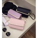 Großhandel Taschen & Reiseartikel: Luxus Tasche  Clutch Kroko Design Handtasche