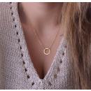 ingrosso Gioielli & Orologi: Collana con  pendente anello  collana elegante ...