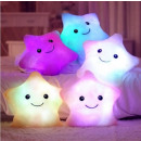 LED Star Light  Lamp Pillow Kuschelkissen