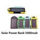 groothandel Computer & telecommunicatie: Solar Power Bank  5000mAh Panel Battery Charger