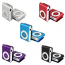 MP3 Player with Clip Aluminum Mini