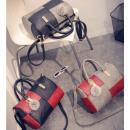 groothandel Handtassen: Luxe Bag Tote handtas leer Caro