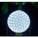 LED luce della  sfera del fiore di 200 LED 20 centi