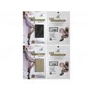 Großhandel Strümpfe & Socken: Gemusterte Strumpfhose Bounce beige schwarz M - 2