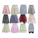 grossiste Jupes: Mélange de jupes de robes de soirée d'été pour