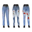 Women's pants  denim jeans coton tube