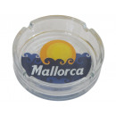 wholesale ashtray: Glass ashtray round thick walls