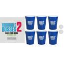 Großhandel Knobelspiele: Spielset Beer Pong 6x Cups 2x Beerpong-Bälle